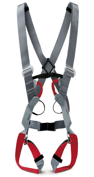 Salewa Civetta II Complete Harness light grey/dark red